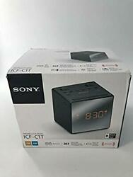 Sony ICF-C1T  Alarm Clock Radio - BLACK