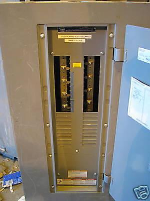 Square D 225 Amp Main Lug Nqod Panelboard 42 Ckt 120208 Volt- E78- Recon