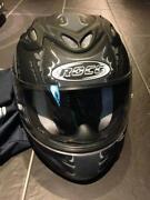 Motorradhelm XL