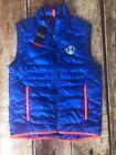 Polo Sport Blue Vest Coats & Jackets for Men