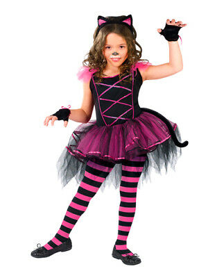 Catarina Costume (Girls Kitten Costume - Catarina Ballerina)