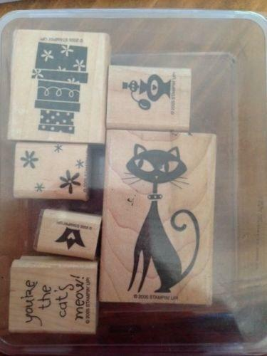 Stampin Up Cat Stamps Ebay