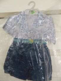 Baby Boys 3-Piece Outfit Job Lot