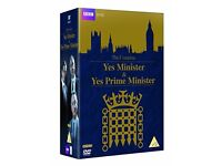 Yes Minister and Yes Prime Minister Complete DVD Boxset *NEW IN PACKAGING*