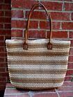 Straw Studios Striped Straw Bags & Handbags for Women