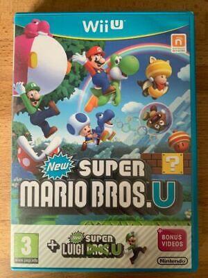 Wii u New super mario bros brothers + Luigi U Mint Same Day Dispatch Free Deliv*