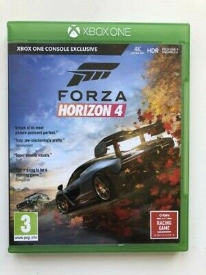 Forza Horizon 4 Xbox One - SUPERB CONDITION - FREE 1ST CLASS DELIVERY