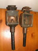 Antique Carriage Lamps