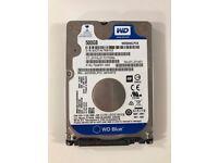 "Western Digital WD Blue 500GB 2.5"" Internal Hard Disk PC,PS4,XBOX WD5000LPVT"