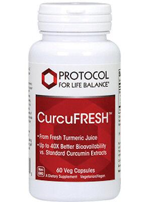 Protocol For Life Balance Curcufresh 60 Vegcaps