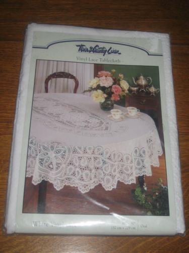 Vintage Vinyl Tablecloth Ebay