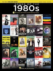 Songs of The 1980s : Decade Series Play-Along (2015, Paperback / Mixed  Media)