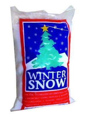 Winter Snow Decorations (Artificial Fake Snow Powder Fluffy Winter Christmas Party Photo Shoot Prop)