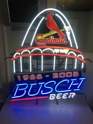 "New St Louis Cardinals Stadium Bar Cub Party Light Lamp Decor Neon Sign 32""x24"""