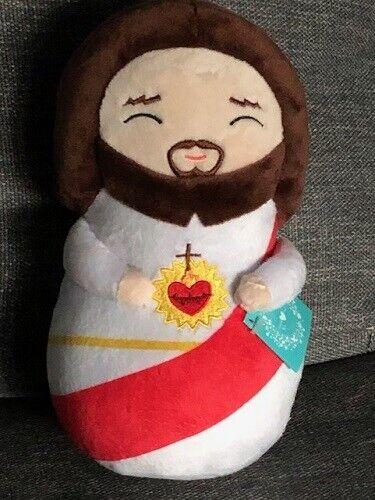 "Sacred Heart of Jesus Plush Doll 9""H"