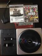 DJ Hero Turntable PS3