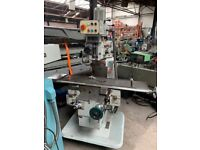 TOS FNK25A TURRET MILLING MACHINE YEAR 1997