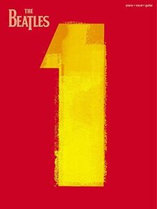 Beatles #1 Songbook for Piano,Guitar and Vocal-like new + bonus