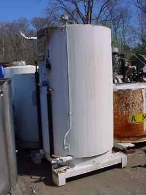 450 Gallon Stainless Steel Insulated Tote Tank Slant Bottomopen Or Closed Top