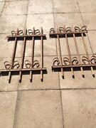 Antique Iron Railings