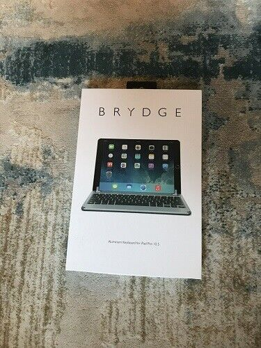 Brydge 10.5 Bluetooth Keyboard Apple iPad Pro 10.5 Space Gray, Open Box