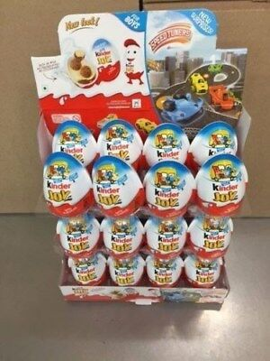 Kinder Eggs Joy With Surprise Toy   Chocolate  72 Boys  Free Shipping
