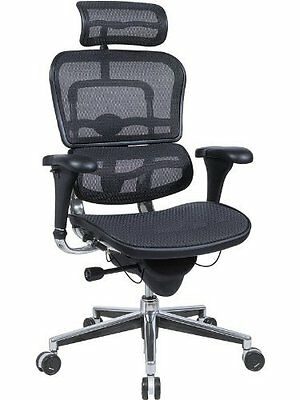 New Mesh Office Hi Swivel Chair Raynor Ergohuman Me7erg Choice Of Colors