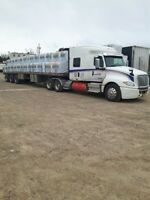 Owner Operators, Long Haul Canada/US and B Train Flatbed Drivers