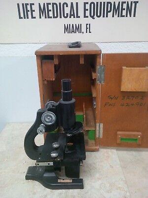 Spencer Buffalo 197488 Usa Made Microscope With Case Miami