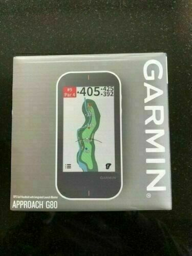 BRAND NEW IN BOX NEW GARMIN APPROACH G80 / GPS GOLF
