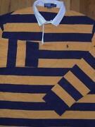 Men's Striped Polo Shirts