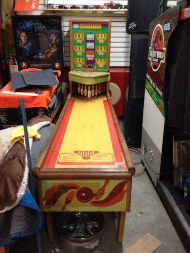 vintage bowling machine
