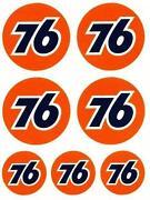 76 Aufkleber