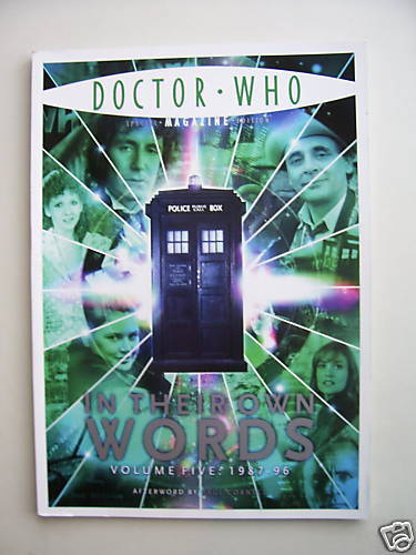Doctor Who  In Their Own Words Volume Five