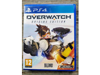 PS4 Overwatch in mint condition like new