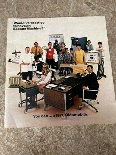 1970 Oldsmobile Original Sales Brochure
