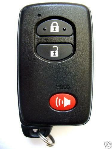 Toyota Prius Smart Key Remote Ebay