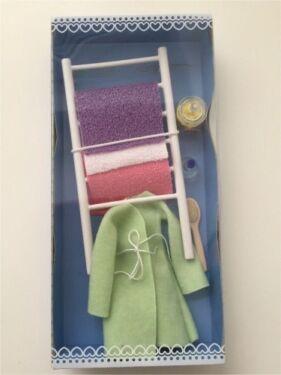 Puppenhaus Möbel & Zubehör - Wellness Set / Badezimmer - top