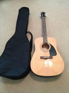 Used Fender Acoustic Guitar