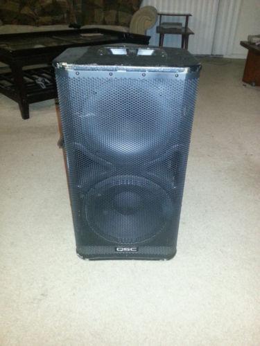 qsc hpr speakers monitors ebay. Black Bedroom Furniture Sets. Home Design Ideas