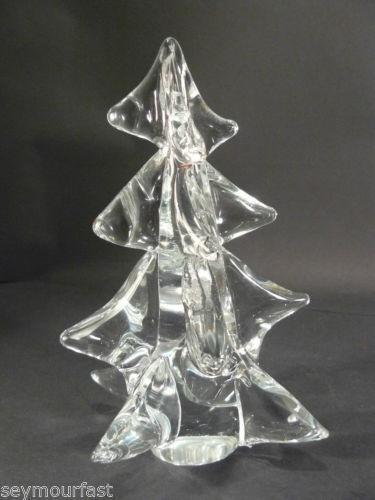 Glass crystal christmas tree ebay