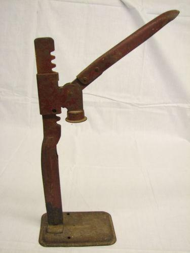 Cast Iron Bottle Capper Ebay