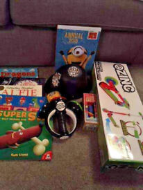 Boys Toys Bundle: Brand New Scooter, Books & Games