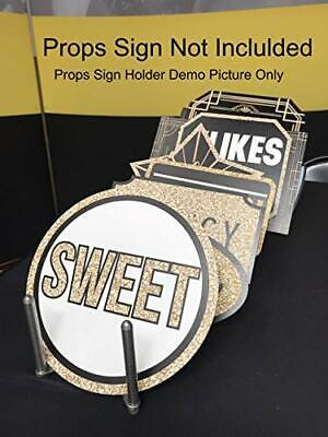 Photo Booth Props Holder for Ever Growing Prop Sign Collections| Stretchable and