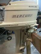 Vintage Mercury Outboard Motor