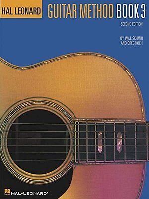 HAL LEONARD GUITAR METHOD MUSIC BOOK 3 INSTRUCTION 26 SONGS BRAND NEW ON