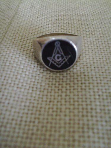 Vintage Mens Masonic Ring Ebay