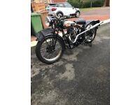BSA 1931 L31-6 350cc single de lux twin port hand change excellent condition