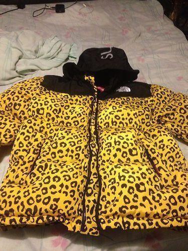 cbaf1b1f3f01 ... authentic north face supreme leopard jacket ebay 5d9f2 cd4b9 coupon ...