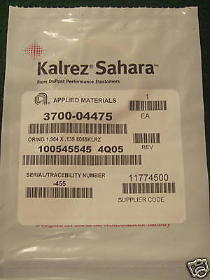 Applied Materials  Dupont Dow Kalrez Sahara O Ring  Amat 3700 04475
